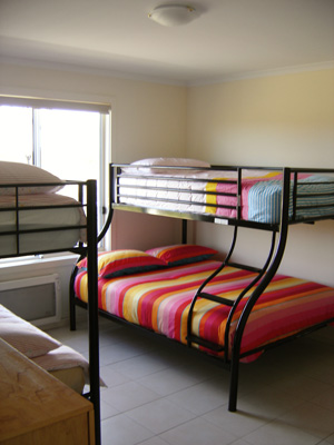 Bunks in Bedroom 3